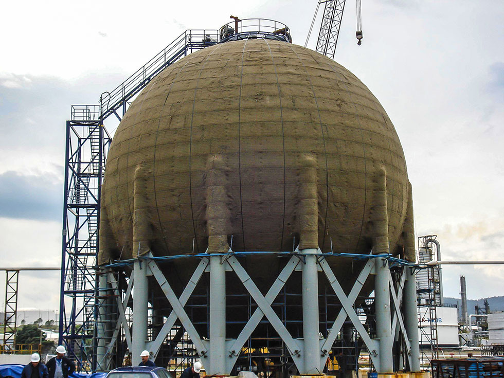 199 Imtaş Spherical Storage Tanks