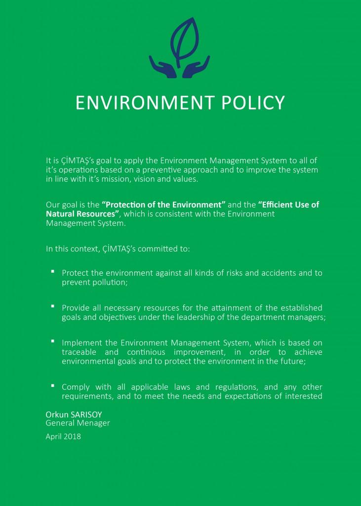 Çevre Politikası 3