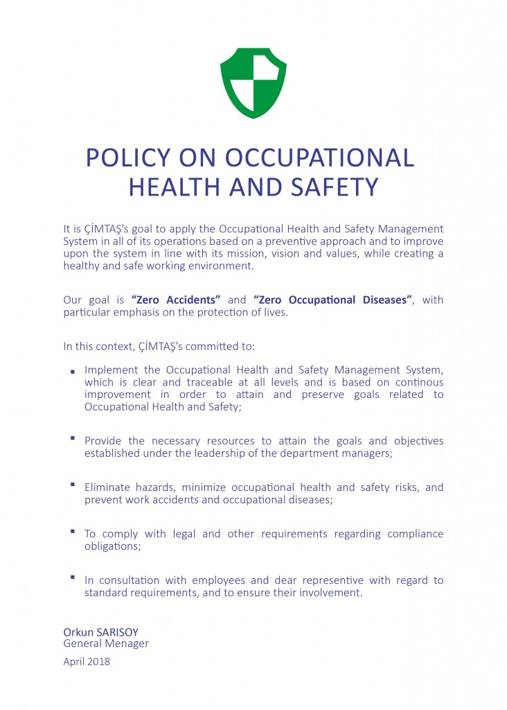 Occupation Health Safety