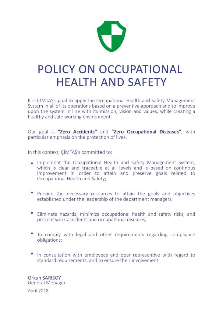 Occupation Health Safety