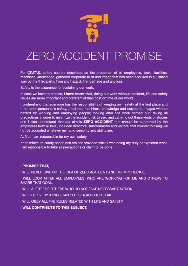 zero accident promise