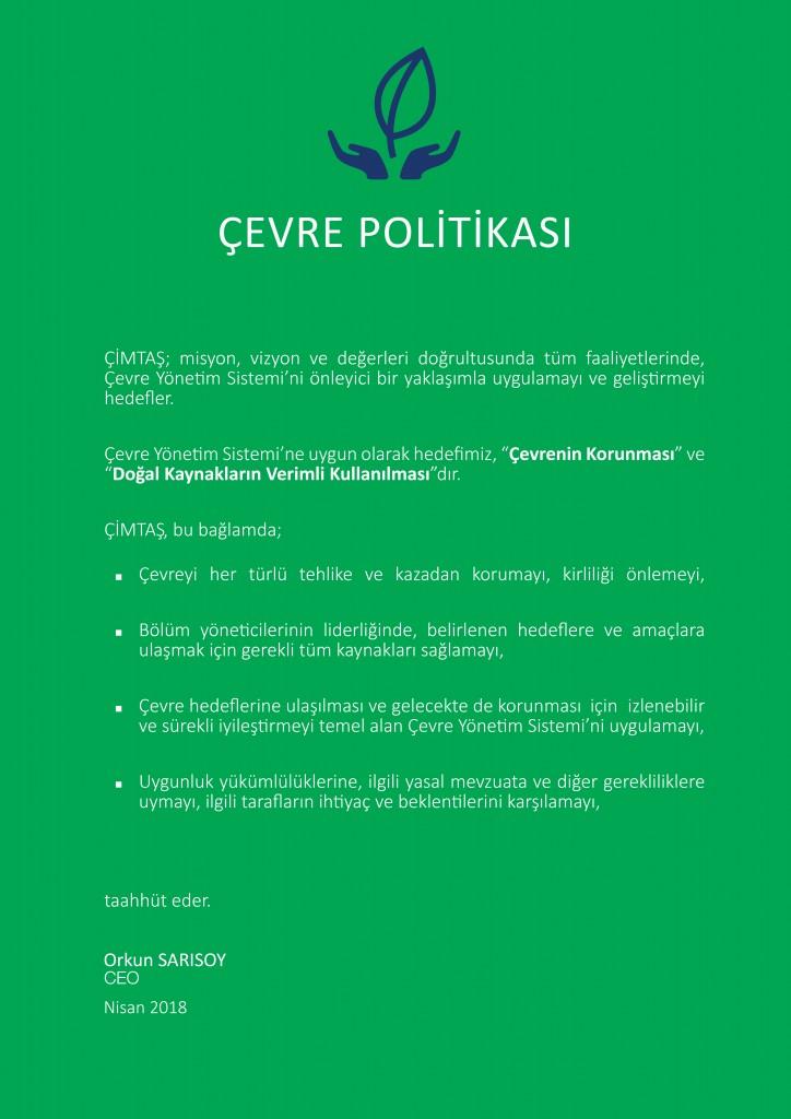 Çevre Politikaları 2